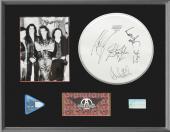 Aerosmith Signed Autograph Display. JSA