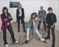 Aerosmith Signed Autographed 8x10 Photo Steven Tyler Brad Whitford Tom Hamilton