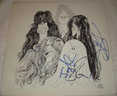 Aerosmith Signed   Autographed Draw the Line Album   LP - JSA Y79215