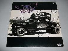 "AEROSMITH signed autographed ""PUMP"" LP RECORD PSA/DNA LOA! STEVEN TYLER"