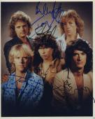 Aerosmith Signed Band Photo By 5!! Steve Tyler Jsa Coa Loa Rare Rare Rare!!!!!