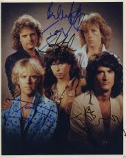 Aerosmith Signed Band Photo By 5!! Steve Tyler Jsa Coa Loa Rare Rare Rare!!!!!