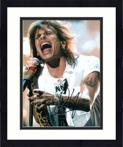 Aerosmith Steve Tyler Autographed Signed 8x10 Photo RACC TS UACC RD AFTAL