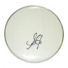 Aerosmith Steven Tyler Autographed Drumhead UACC RD AFTAL