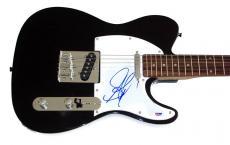 Aerosmith Steven Tyler Autographed Signed Guitar PSA & UACC AFTAL