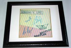 Aerosmith Steven Tyler Plus Signed Bootleg Album PSA/DNA COA AFTAL