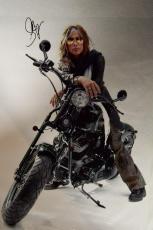 Aerosmith Steven Tyler Signed 24x36 Canvas Davidson Poster Photo Video Proof