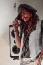 Aerosmith Steven Tyler Signed 24x36 Canvas Speakers Poster Photo Video Proof