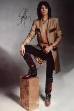 Aerosmith Steven Tyler Signed 24x36 Vintage Canvas Poster Photo Video Proof