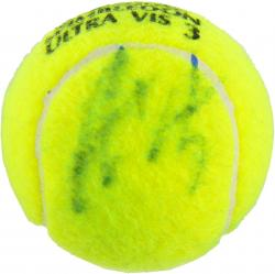 Andre Agassi Autographed Wimbledon Logo Tennis Ball