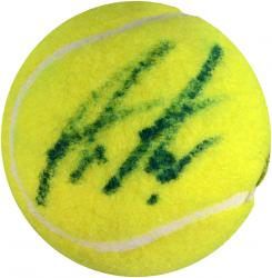 Andre Agassi & Steffi Graf Dual Autographed Tennis Ball