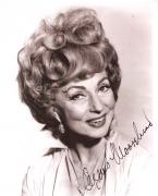 """AGNES MOOREHEAD as ENDORA in TV Series """"BEWITCHED"""" (Passed Away 1974) Small Mark Top Right - Signed 8x10 B/W Photo"""