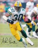 Ahman Green Green Bay Packers Autographed 8'' x 10'' Action Photograph - Mounted Memories