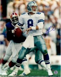 Troy Aikman Autographed Cowboys 16x20 Photo