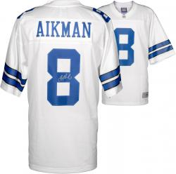 Troy Aikman Dallas Cowboys Autographed Pro Line White Jersey