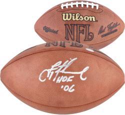 Troy Aikman Dallas Cowboys Autographed Pro Football with HOF 06 Inscription