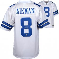 Troy Aikman Dallas Cowboys Autographed Pro Line White Jersey with SB XXVII MVP Inscription