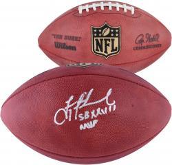 Troy Aikman Dallas Cowboys Autographed Duke Pro Football with SB XXVII MVP Inscription