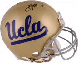 Troy Aikman UCLA Bruins Autographed Riddell Pro-Line Authentic Helmet - Mounted Memories