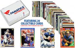 Troy Aikman Dallas Cowboys Collectible Lot of 20 NFL Trading Cards - Mounted Memories