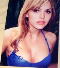Aimee Teegarden Signed Autograph Sexy Seductive Busty Bikini Body 8x10 Photo Coa