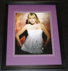 Aimee Teegarden Signed Framed 8x10 Photo AW Friday Night Lights