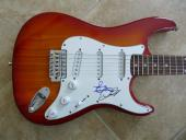 Air Supply Band Signed Autographed Electric Guitar PSA Guaranteed