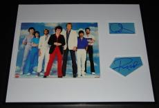 Air Supply Graham Russell & Russell Hitchcock Signed Framed 16x20 Album Display