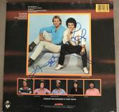 Air Supply  Now & Forever Hitchcock & Russell Signed Vinyl Record  W/coa