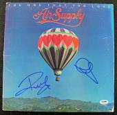 Air Supply Signed Autographed Graham Russell Russell Hitchcock Album PSA/DNA