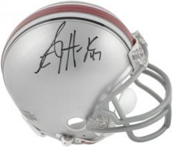A.J. Hawk Ohio State Buckeyes Autographed Riddell Mini Helmet