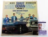 Al Jardine & Brian Wilson Signed Record Album Beach Boys Shut Down 2 JSA AUTOS