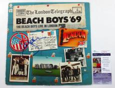 Al Jardine Signed Album COVER ONLY The Beach Boys '69 w/ JSA AUTO