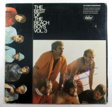 Al Jardine Signed LP Record Album The Beach Boys Volume 3 w/ AUTO