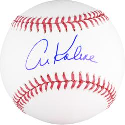 Al Kaline Autographed Baseball
