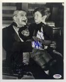 Al Lewis And Butch Patrick Signed Munsters 8x10 Photo - PSA AC21426