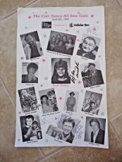 Al Lewis Donna Douglas Boxcar Willie Butch Patrick & Tom Lester Signed Poster