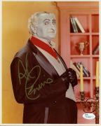 AL LEWIS HAND SIGNED 8x10 COLOR PHOTO      AWESOME+RARE    THE MUNSTERS      JSA