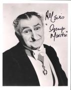 "AL LEWIS ""THE MUNSTERS"" Known as GRANDPA MUNSTER-Passed Away 2006 Signed 8x10 B/W Photo"