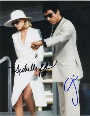 Al Pacino and Michelle Pfeiffer Autographed SCARFACE 8x10 Photo