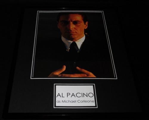 Al Pacino as Michael Corleone Godfather Framed 16x20 Photo Display