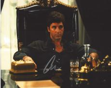 "AL PACINO as TONY MONTANA in 1983 FILM ""SCARFACE"" Signed 10x8 Color Photo"