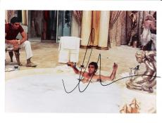 "AL PACINO as TONY MONTANA in ""SCARFACE"" (HOT TUB!) Signed 10x8 Color Photo"