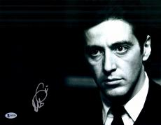 "Al Pacino Autographed 11"" x 14"" The Godfather Photograph - Beckett COA"