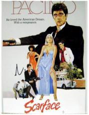 Al Pacino autographed 11x14 photo (Scarface Tony Montana) Image #SC17
