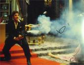 Al Pacino autographed 11x14 photo (Scarface Tony Montana with his little friend) Image #SC16