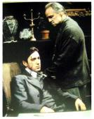 Al Pacino autographed 11x14 photo (The Godfather Michael Corleone pictured with Marlon Brandon the Don) Image #SC15
