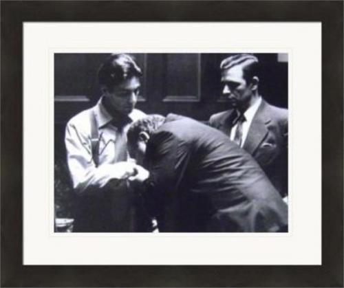 Al Pacino autographed 11x14 photo (The Godfather Michael Corleone) #SC16 Matted & Framed
