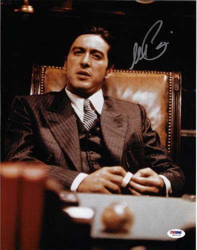 Al Pacino Autographed 11x14 The Godfather Photo Michael Corleone - PSA/DNA 4