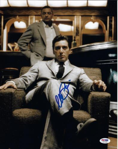 Al Pacino Autographed 11x14 The Godfather Photo Michael Corleone - PSA/DNA 5